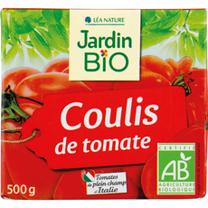 Jardin Bio coulis de tomate 500g