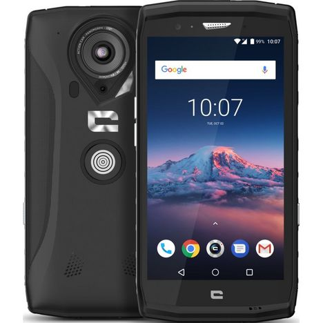CROSSCALL Smartphone - TREKKER X4 - IP68 - Noir - 64 Go - 5.5 pouces - 4G - Double Sim ou Sim et MicroSD - X-BLOKER