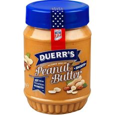 DUERR'S Beurre de cacahuètes sans morceaux 340g