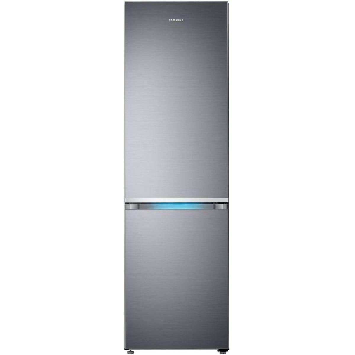 Réfrigérateur combiné RB41R7737S9, 406 L, Froid ventilé