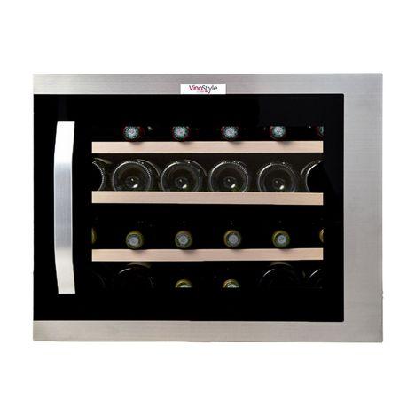VINOSTYLE Cave à vin de service - VSI24MOIN, 24 bouteilles, 42 dB, Porte vitrée