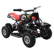 MOOVWAY Quad électrique - 350Y - Noir/rouge