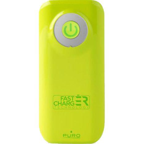 PURO Batterie de secours charge rapide PUROPBFC4000GRN - Vert citron