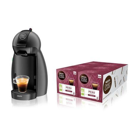 Nescafe Dolce Gusto Eclipse Capsules Café Thé machine livraison express