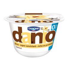 DANIO Yaourt protéïné 0% MG vanille 150g