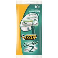 Bic rasoir jetable comfort 2 sensitive x10