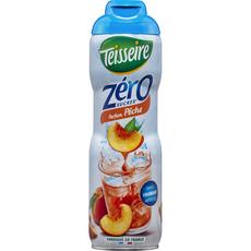 Teisseire Sirop parfum pêche zéro sucre bidon 60cl
