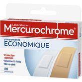 Mercurochrome Pansement économique x20