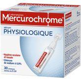 Mercurochrome sérum physiologique unidose stérile x30