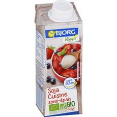 Bjorg bio soja cuisine semi épaisse 25cl