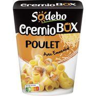 Sodebo cremio pastabox poulet à la crème 280g