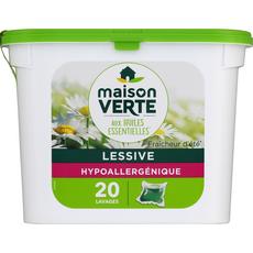 Maison Verte lessive fraicheur été capsule x20 -0.528kg
