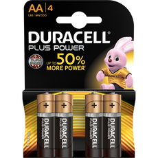 Duracell plus power AA x4