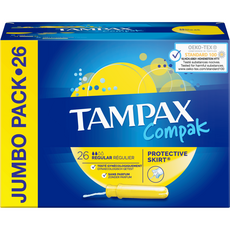TAMPAX Compak Tampons avec applicateur regular 26 pièces