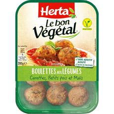 Herta Le Bon Végétal boulettes légumes 200g