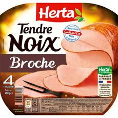 Herta tendre noix à la broche 4 tranches 160g