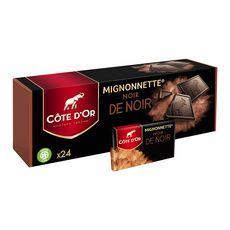 Côte D'Or mignonnette noir de noir x24 - 240g