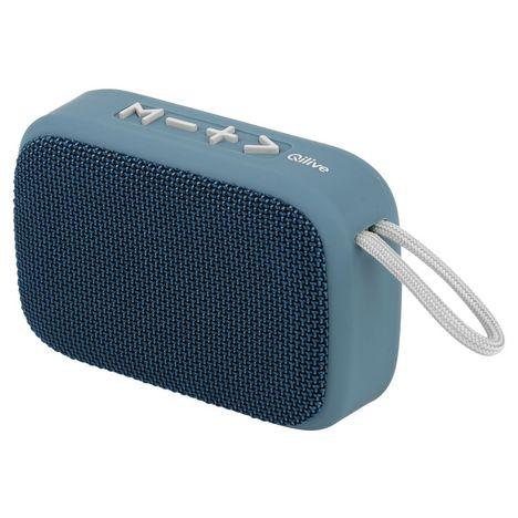 QILIVE Enceinte portable Bluetooth - 140100 Q.1931  - Bleu