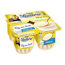 LA LAITIERE Riz au lait nature 4x115g