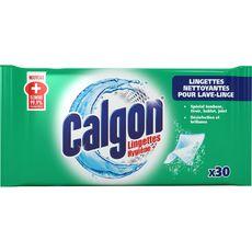 Calgon Lingettes nettoyantes lave-linge x30