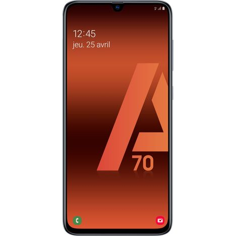 SAMSUNG Smartphone - GALAXY A70 - 128 Go - 6.7 pouces - Blanc - 4G - Double port SIM