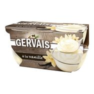 Gervais fromage blanc saveur vanille 4x115g