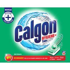 CALGON Tablettes anti-calcaire lave-linge 48 lavages 48 tablettes