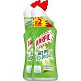 Harpic gel écologique 2x750ml