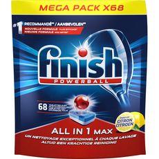 Finish Powerball tablettes lave-vaisselle parfum citron x68