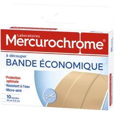 Mercurochrome bande économique x10