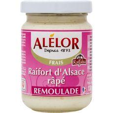 Alélor Raifort d'Alsace râpé remoulade 130g