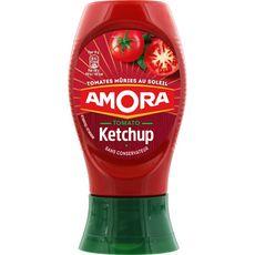 Amora ketchup nature flacon souple 280g