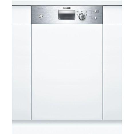 BOSCH Lave-vaisselle semi-encastrable SPI25CS00E, 9 couverts, 45 cm, 48 dB, 5 programmes