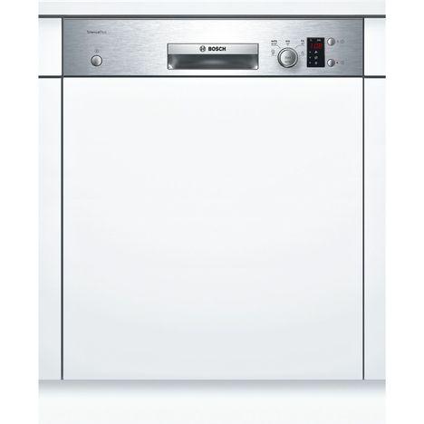 BOSCH Lave-vaisselle semi-encastrable SMI25AS00E, 12 couverts, 60 cm, 48 dB, 5 programmes