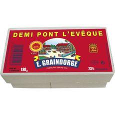 GRAINDORGE Demi Pont l'Evêque 180g