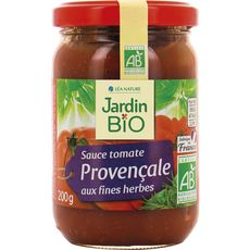 Jardin Bio sauce tomate provençale 200g