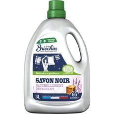 BRIOCHIN Lessive authentique écologique au savon noir 60 lavages 3l