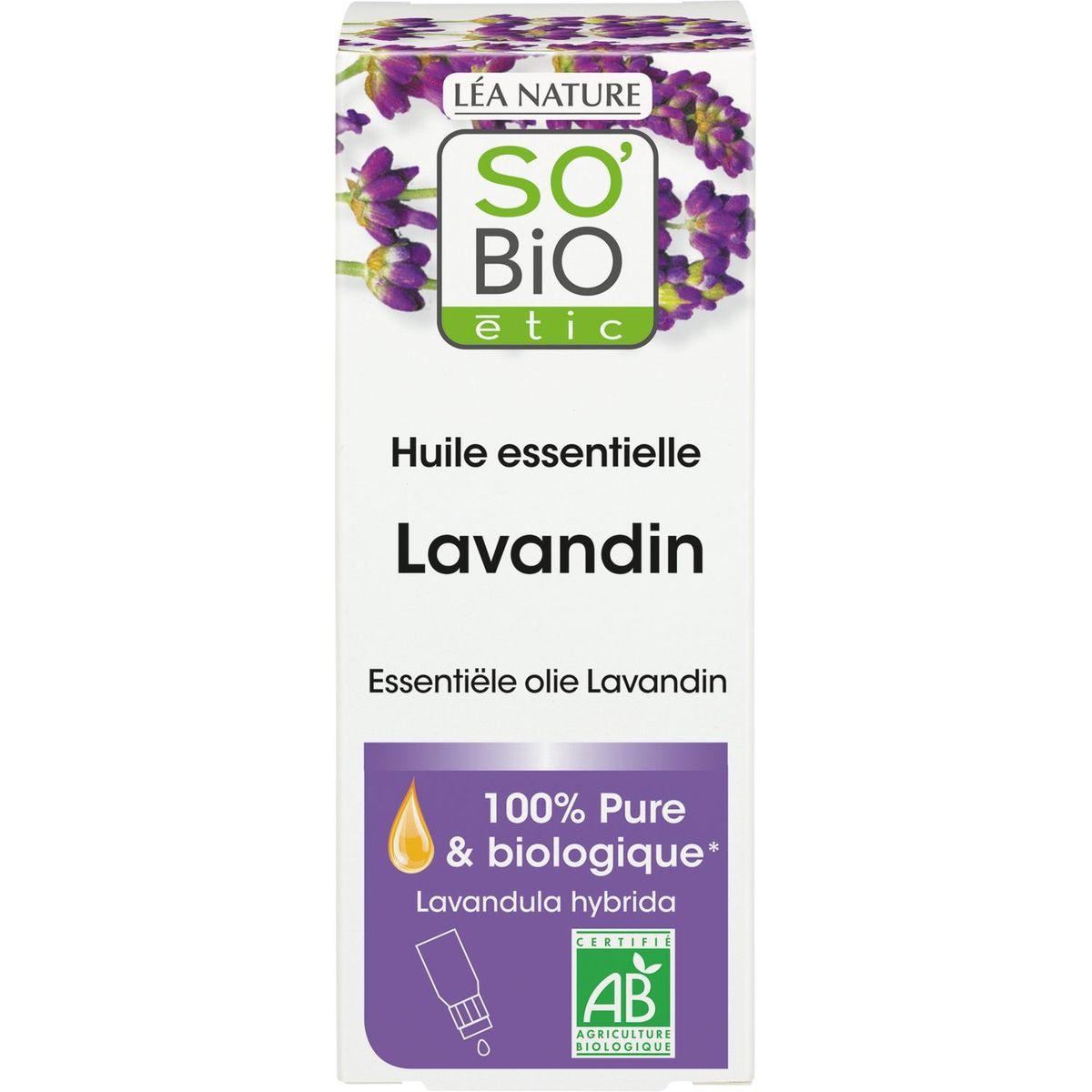 So'Bio étic Huile essentielle biologique de lavandin 15ml