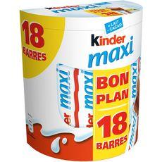 Kinder maxi x18 -380g