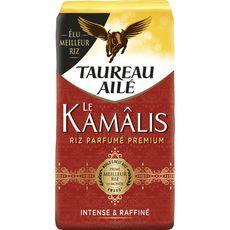 TAUREAU AILE Riz Le Kamâlis parfumé premium intense et raffiné 500g