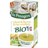 La Potagère velouté de légumes de nos campagnes bio 1l