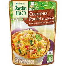 Jardin Bio couscous poulet et curcuma 220g