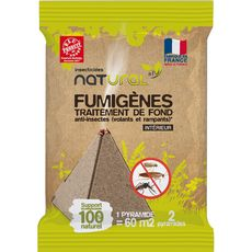 Lotentik Pyramides fumigènes anti-insectes intérieur x2