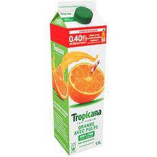 TROPICANA Tropicana pure premium orange avec pulpe 1,10l