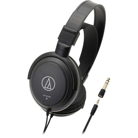 AUDIO TECHNICA Casque audio ATH AVC 200 - Noir