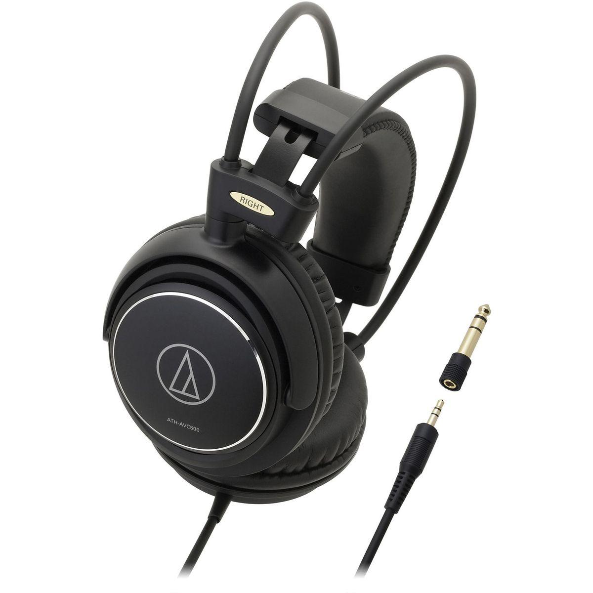 Casque audio ATH AVC 500 - Noir