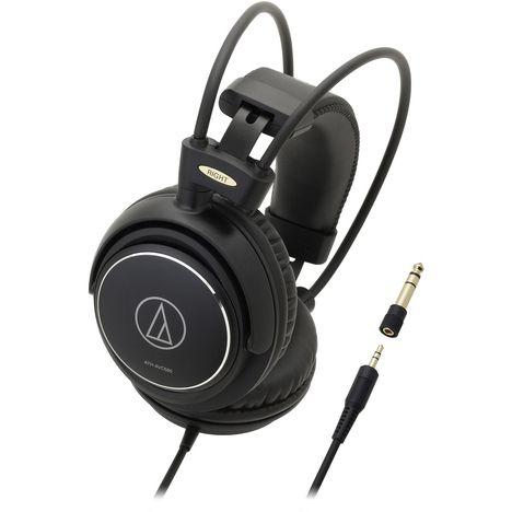 AUDIO TECHNICA Casque audio ATH AVC 500 - Noir