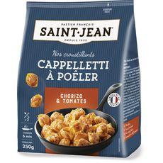 ST JEAN Cappelletti à poêler farcis au chorizo et à la tomate 2 personnes 250g