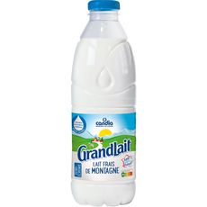 Candia grandlait lait frais de montagne demi-écrémé 1l