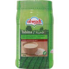 Al Wadi Sauce tahina, crème 100% sésame 454g